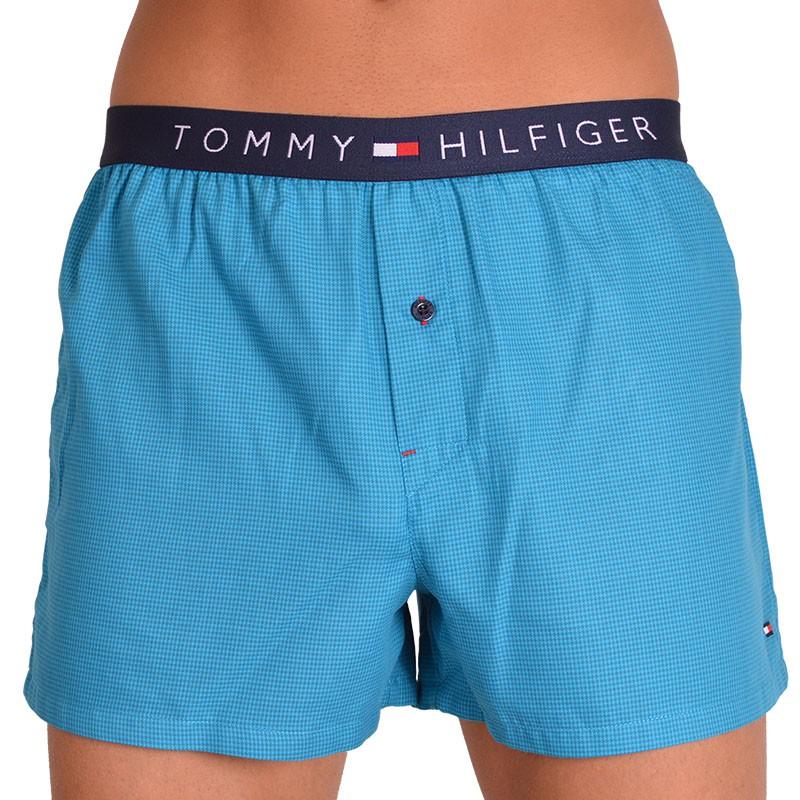 Pánské trenýrky Tommy Hilfiger houndstooth modré