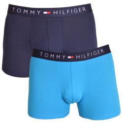 2PACK pánské boxerky Tommy Hilfiger trunk modré