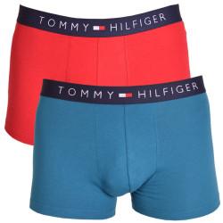 2PACK pánské boxerky Tommy Hilfiger trunk modro červené