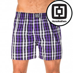 Pánské trenky Horsefeathers Sin boxer shorts deep violet