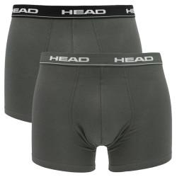 Pánské boxerky HEAD white black grey