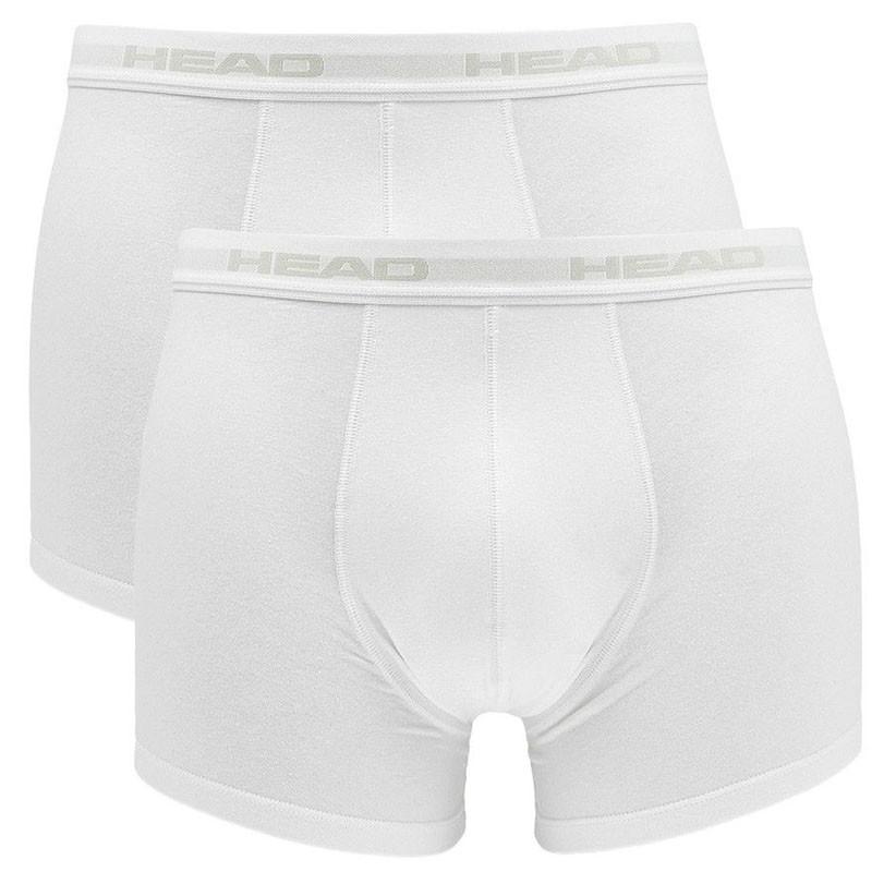 2PACK pánské boxerky HEAD bílé (841001001 300) XL 0357771800