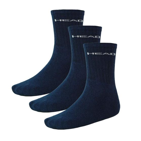 3PACK ponožky HEAD navy (751004001 321)