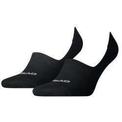 2PACK ponožky HEAD footie černé