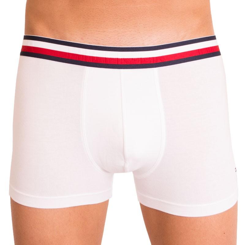 Pánské boxerky Tommy Hilfiger modern stripe bílé M