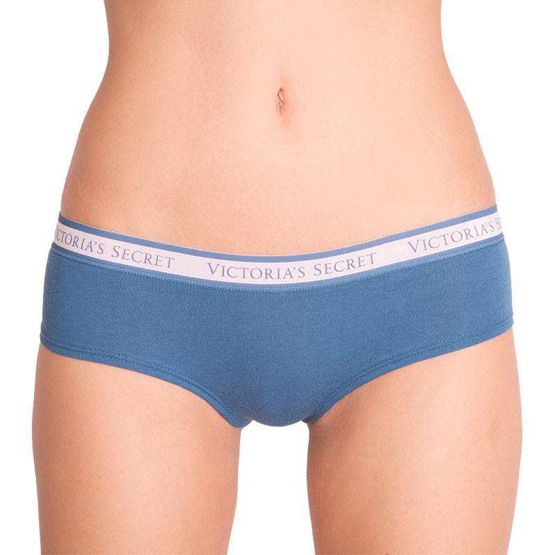 Dámské kalhotky Victoria's Secret cheeky modro zelené S