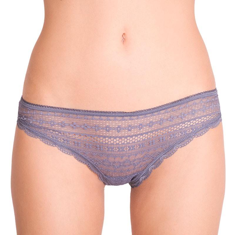 Dámské kalhotky Victoria's Secret cheeky šedé S