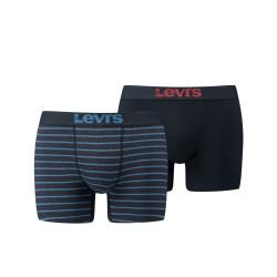 2PACK pánské boxerky Levis navy