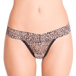 Dámská tanga Victoria's Secret krajkové tygrované