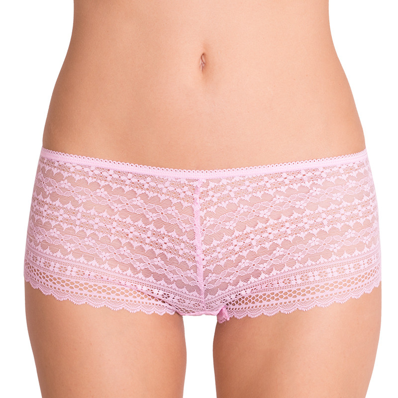 Dámské kalhotky Victoria's Secret shortie růžové XS