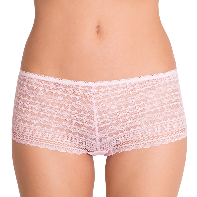 Dámské kalhotky Victoria's Secret shortie baby pink S