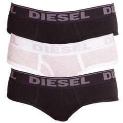 3PACK dámské kalhotky Diesel oxy panties černo šedé