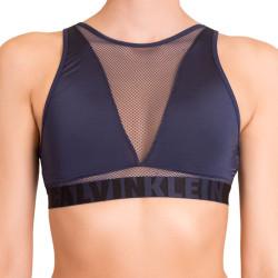 Dámská sportovní podprsenka Calvin Klein Unlined tmavě modrá
