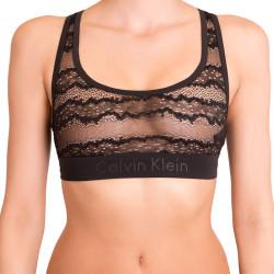 Dámská sportovní podprsenka Calvin Klein Black Edition černá