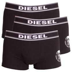 3PACK Pánské Boxerky Diesel černé