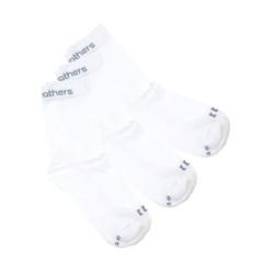 3PACK ponožky Horsefeathers delete socks bílé