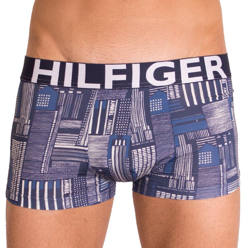 Pánské boxerky Tommy Hilfiger trunk city navy blazer M