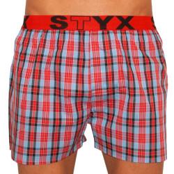 Pánské trenky Styx sportovní guma vícebarevné (B510)