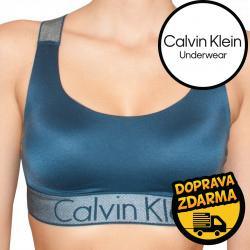 Dámská podprsenka Calvin Klein tmavě modrá (QF4053E-5NT)