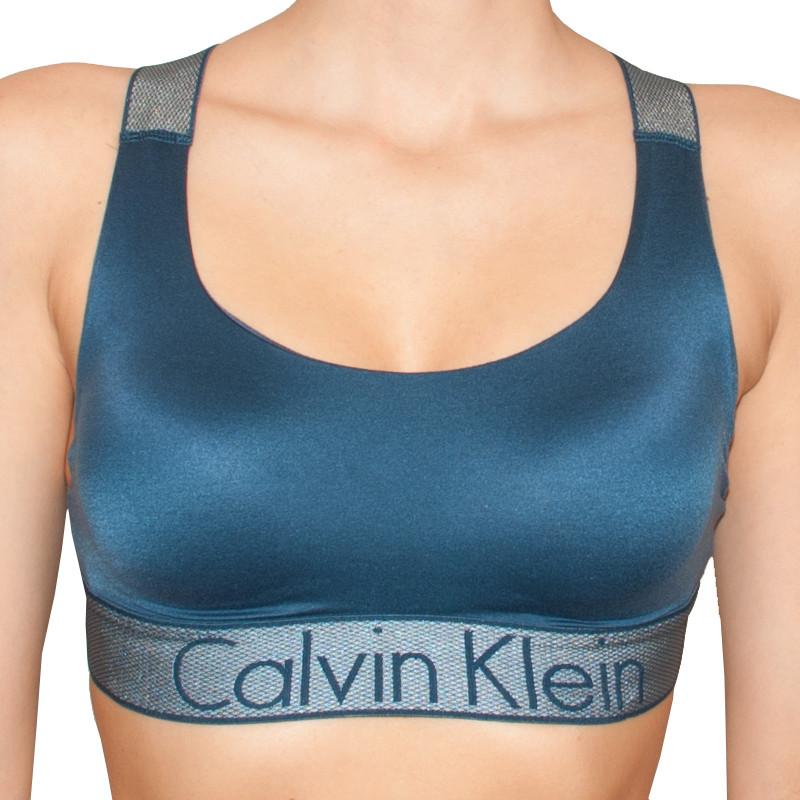 Dámská podprsenka Calvin Klein Lightly Lined modrá M