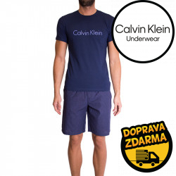 Pánské pyžamo Calvin Klein modré