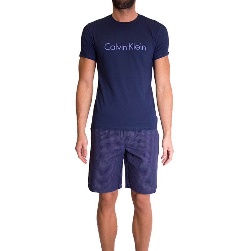 Pánské pyžamo Calvin Klein modré M