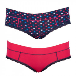 2PACK Dámské Kalhotky Diesel Celebriti Mutande Dots