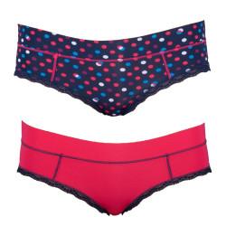 2PACK dámské kalhotky Diesel vícebarevné (00SE2W-0CADQ-17)