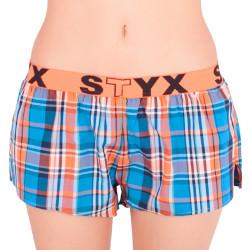 Dámské trenky Styx sportovní guma vícebarevné (T608)