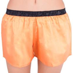 Dámské trenýrky Represent solid orange černá guma