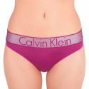 Dámské tanga Calvin Klein Lightly Lined růžové