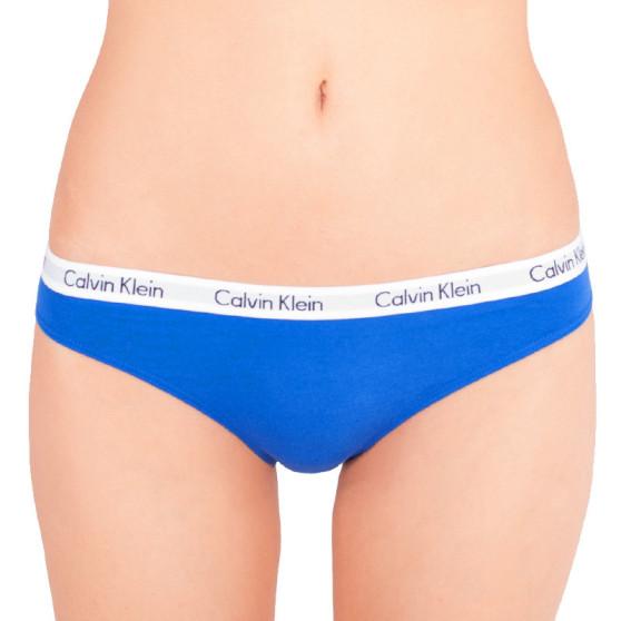 Dámské kalhotky Calvin Klein bikini modré