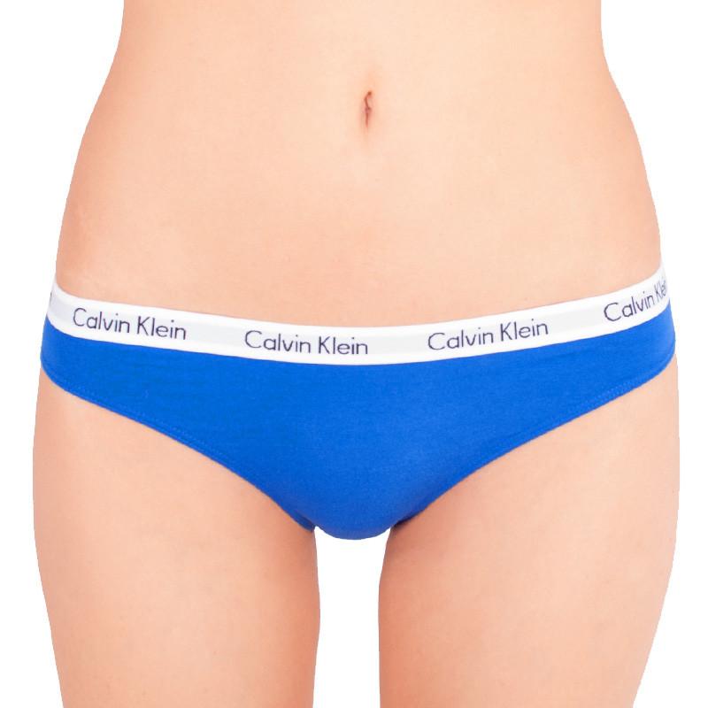 Dámské kalhotky Calvin Klein bikini modré L