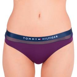 Dámská tanga Tommy Hilfiger fialové