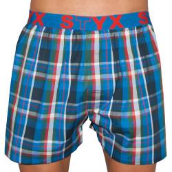 Pánské trenky Styx sportovní guma vícebarevné (B521)