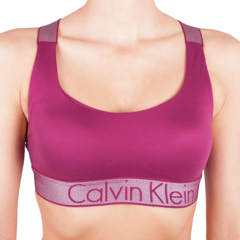 Dámská podprsenka Calvin Klein Lightly Lined růžová M