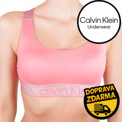 Dámská podprsenka Calvin Klein lososová (QF4053E-TI5)