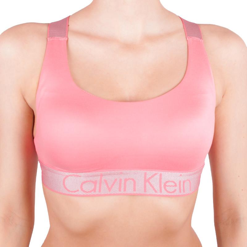 Dámská podprsenka Calvin Klein Lightly Lined lososová M