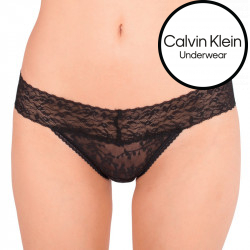 Dámské kalhotky Calvin Klein černé (QD3620E-001)