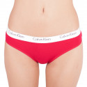 Dámské kalhotky Calvin Klein červené (QF1369E-3EW)