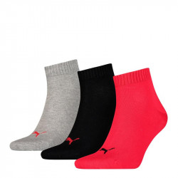 3PACK ponožky Puma black red