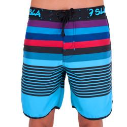 Pánské Plavky 69SLAM Krátké Boardshort Medium artline blue