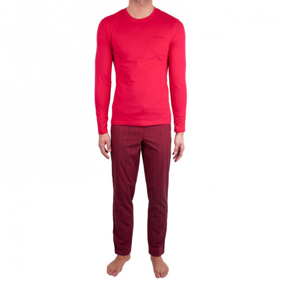 Pánské pyžamo Calvin Klein červené