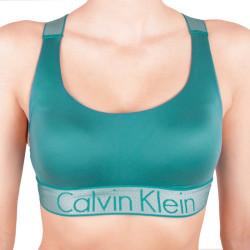 Dámská podprsenka Calvin Klein Lightly Lined zelená