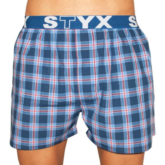 Pánské trenky Styx sportovní guma vícebarevné (B7)
