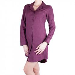 Dámská noční košile Calvin Klein fialová