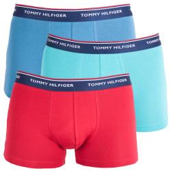 3PACK pánské boxerky Tommy Hilfiger trunk barevné