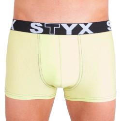 Pánské boxerky Styx sport G4 zelenkavé