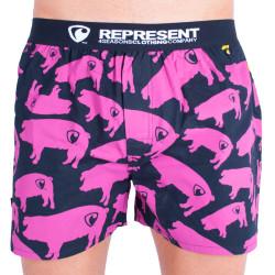 Pánské trenýrky Represent exclusive mike pig farm pink