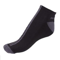 Ponožky Infantia černé s modrou linkou